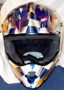 Helmet Custom Paint 152