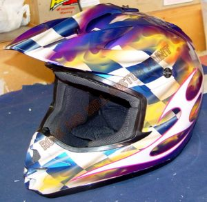 Helmet Custom Paint 154