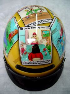 Helmet Custom Paint 155
