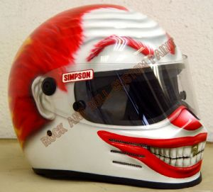 Helmet Custom Paint 171