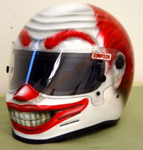Helmet Custom Paint 176