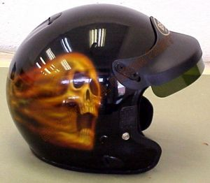 Helmet Custom Paint 180