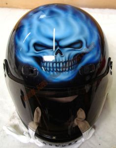 Helmet Custom Paint 19