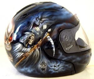 Helmet Custom Paint 192