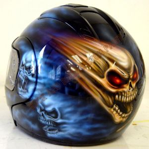 Helmet Custom Paint 193