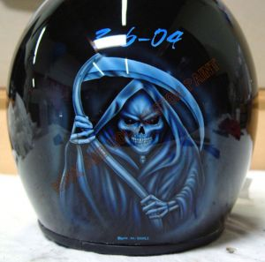 Helmet Custom Paint 20