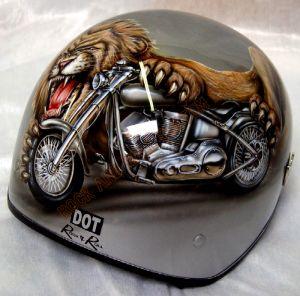 Helmet Custom Paint 22