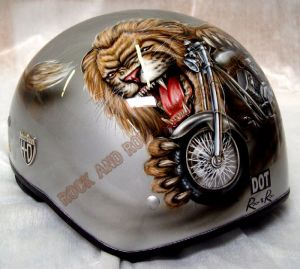 Helmet Custom Paint 23