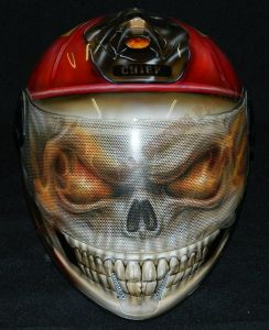 Helmet Custom Paint 2364