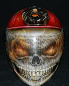 Helmet Custom Paint 2365