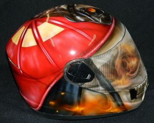 Helmet Custom Paint 2366