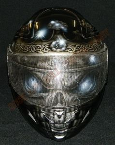 Helmet Custom Paint 2367