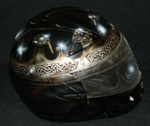 Helmet Custom Paint 2368