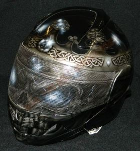 Helmet Custom Paint 2369
