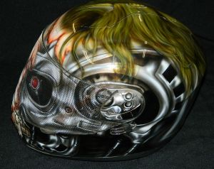 Helmet Custom Paint 2371