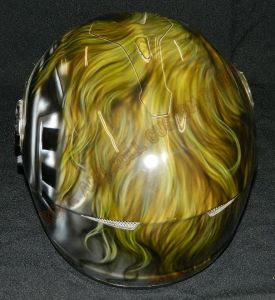 Helmet Custom Paint 2372