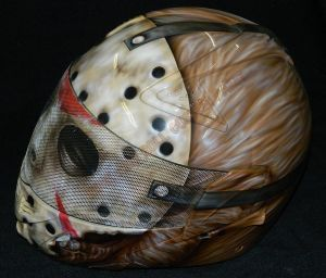 Helmet Custom Paint 2375