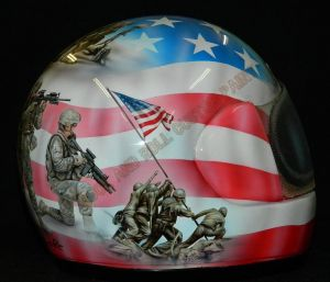 Helmet Custom Paint 2377