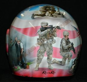 Helmet Custom Paint 2378