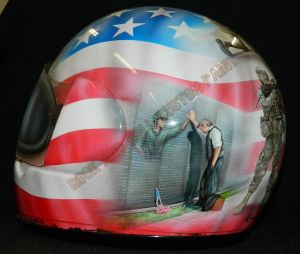 Helmet Custom Paint 2380