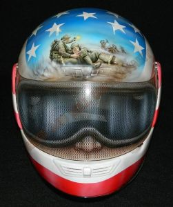 Helmet Custom Paint 2381