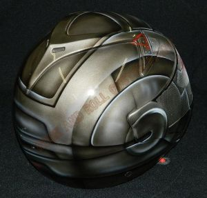 Helmet Custom Paint 2385