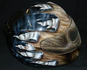 Helmet Custom Paint 2387