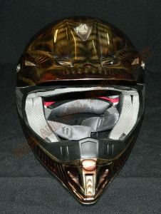 Helmet Custom Paint 2391