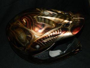 Helmet Custom Paint 2392