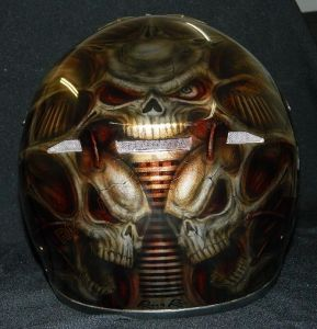 Helmet Custom Paint 2393