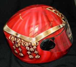 Helmet Custom Paint 2397
