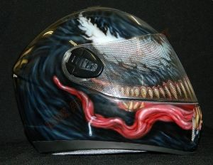 Helmet Custom Paint 2400