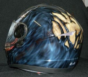 Helmet Custom Paint 2401