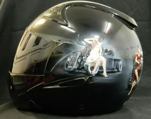 Helmet Custom Paint 2403
