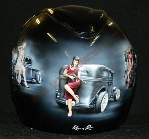 Helmet Custom Paint 2404