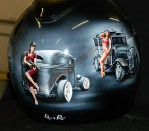 Helmet Custom Paint 2405