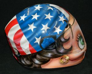 Helmet Custom Paint 2409