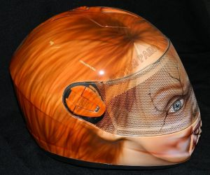 Helmet Custom Paint 2412