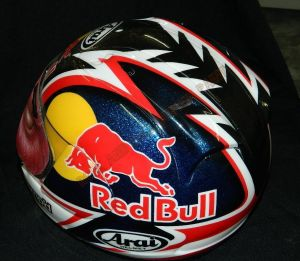 Helmet Custom Paint 2418