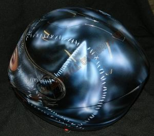 Helmet Custom Paint 2421
