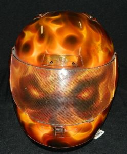 Helmet Custom Paint 2422