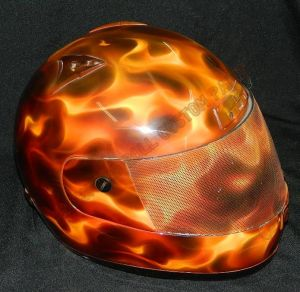 Helmet Custom Paint 2423