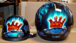 Helmet Custom Paint 25