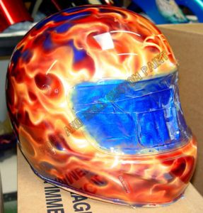 Helmet Custom Paint 27