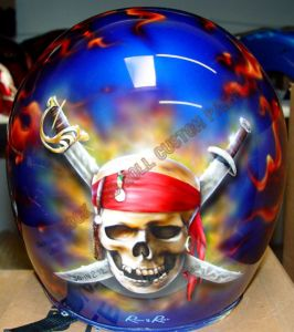 Helmet Custom Paint 28