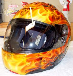 Helmet Custom Paint 29