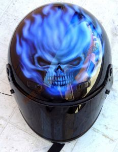 Helmet Custom Paint 3