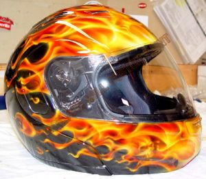 Helmet Custom Paint 30