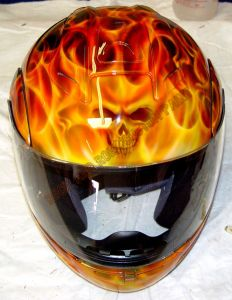 Helmet Custom Paint 31