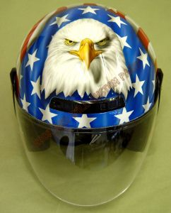 Helmet Custom Paint 36